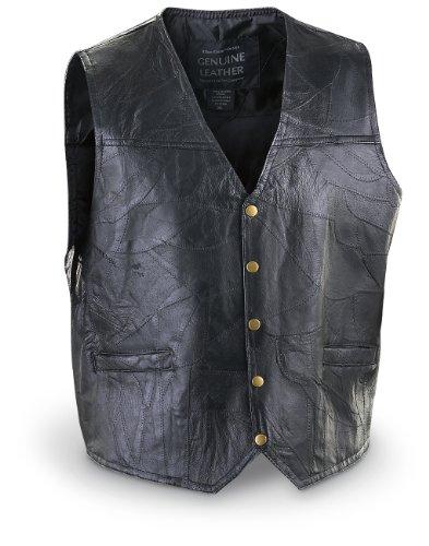 Mosaic Leather Biker Black BLACK product image