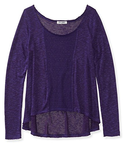 Aeropostale Womens Sheer Knit Sweater