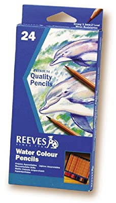 Watercolor Pencil Set Includes Beautiful Colors For Washes, Blending And Drawing