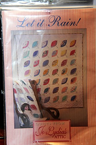 (Let It Rain! Quilt Pattern - Pretty Parasols 42 1/2