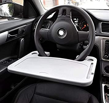 Lightter Wheelmate Car Table Steering Wheel Tray And Vehicle Seat Mount Notebook