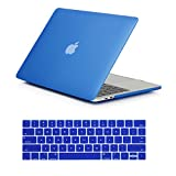 RYGOU Plastic Matte Finish Hard Case Keyboard Cover for Newest MacBook Pro 15 Inch with Touch Bar Model:A1707 (Released in Oct 2016)