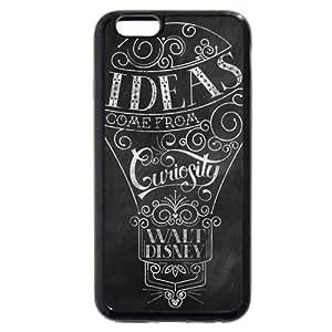 """UniqueBox Customized Disney Series Phone Case for iPhone 6 4.7"""", Walt Disney Quotes iPhone 6 4.7"""