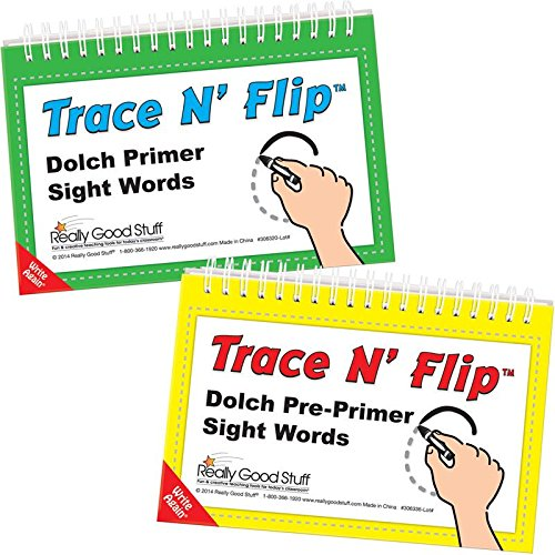 Trace N' Flip: Dolch Pre-Primer And Primer Sight Words Kit