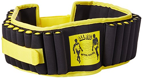 All Pro Aquatic Exercise Belt, Water Walker ®, Weight Adjustable up to 10-lbs ()