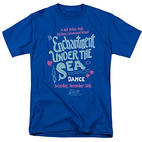The Enchantment Under The Sea Dance -- Back To The Future Adult T-Shirt, X-Large