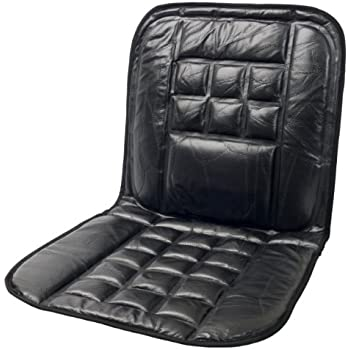 Amazon Com Wagan In9615 Leather Lumbar Support Cushion