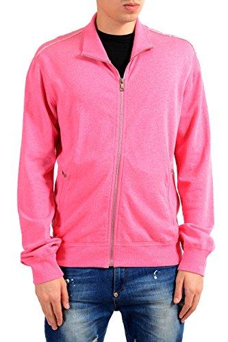 Dolce & Gabbana Pink Full Zip Men's Track Jacket US S IT 48