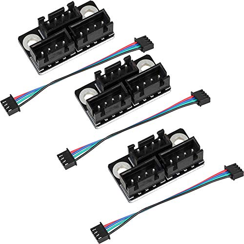 3pcs 3D Printer Stepper Motor Parallel Module with/w Cable for Double Z Axis Dual Z Motors for Lerdge 3D Printer Board