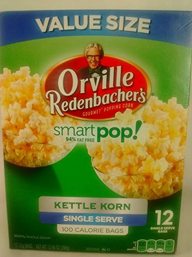 Orville Smart Pop Kettle Korn Single Serve Popcorn (2 Pack) 24 - Smart Pop Orville