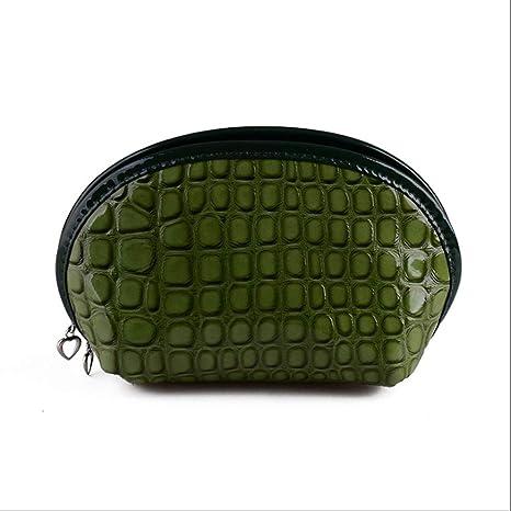 Bolsa de Maquillaje Bolso cosmético con patrón de cocodrilo ...
