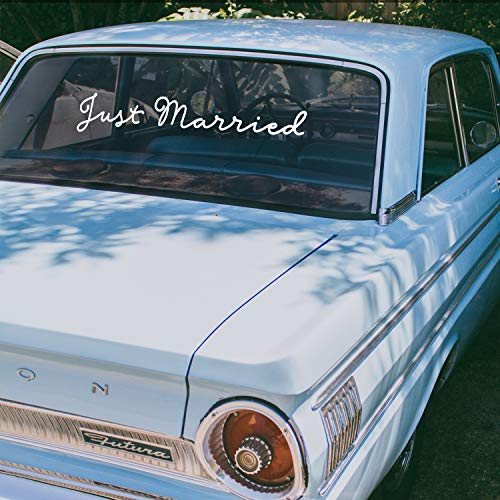 (Vinyl Wall Art Decal - Just Married - 4
