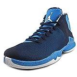Jordan Super Fly 4.0 PO Men US 12 Blue Basketball Shoe