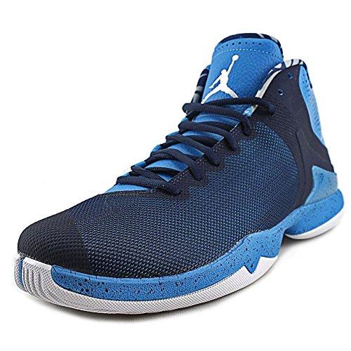 Jordan Super Fly 4.0 PO Men US 12 Blue Basketball Shoe by Jordan