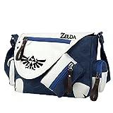 YOYOSHome Anime The Legend of Zelda Cosplay Handbag Messenger Bag Shoulder Bag School Bag (Blue)