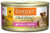 Instinct Original Small Breed Grain Free Real Chicken Recipe Natural Wet Canned Dog Food by Nature's Variety, 3 oz. Cans (Case of 24)