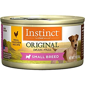 Halo grain free chicken and salmon small breed dog food pack of 12 instinct original small breed grain free real chicken recipe natural wet canned dog food by natures variety 3 oz cans case of 24 forumfinder Image collections