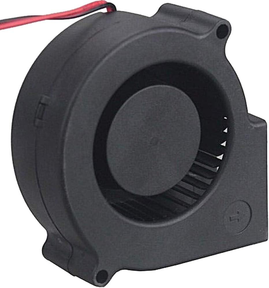 1pcs//lot Gdstime 2Pin 3inch Quiet 12 volt Blower 75x30mm Fast Speed DC Cooling Fan