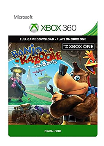 Banjo-Kazooie: Nuts & Bolts - Xbox 360 / Xbox One Digital Code (Banjo Xbox)