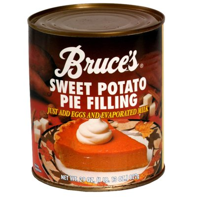 Bruces, Sweet Potato Pie Filling, 29-Ounce (12 Pack) by Bruce Foods