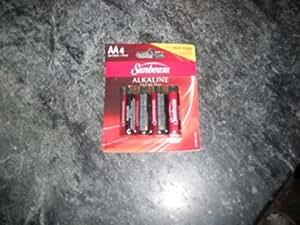 Amazon.com: Sunbeam Alkaline Batteries, AA, 4 pack: Health