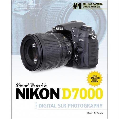 Cengage DAVID BUSCH'S NIKON D7000 GUIDE TO DIGITAL SLR PHOTOGRAPHY shows you how, when, and why to use all the cool features, controls, and functions of the D7000 to take great photographs of anything. Books