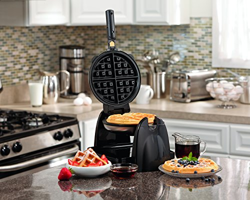 Hamilton Beach Flip Belgian Waffle Maker with Removable Plates (26030) by Hamilton Beach (Image #6)'