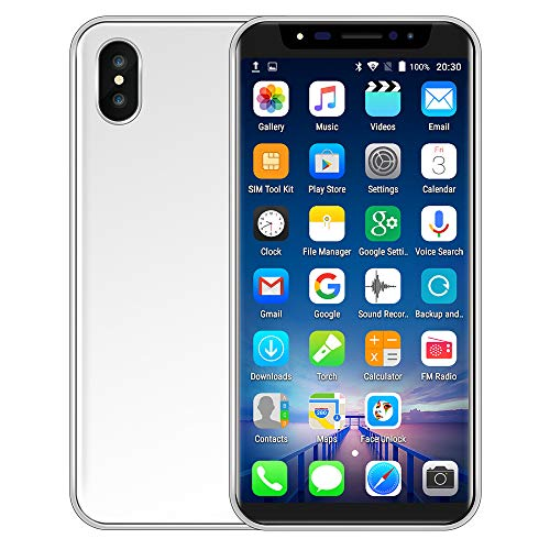 Unlocked, Large Capacity 4800mA Battery, 5.8 inch Dual HD Camera Smart Phone IPS Full Screen 1GB+4GB WiFi Bluetooth GPS 3G GSM/WCDMA Backup Call Mobile Phone