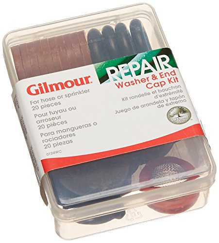Gilmour 0124WC 20-Piece Washer and End Cap (Gilmour Filter)