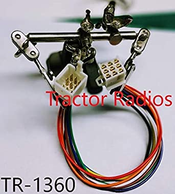 Amazon.com: Kubota Tractor Radio Male + Plug CD in Dash ... on suspension harness, headlight harness, conterra radio harness, seat belt harness, radio sensors, 5 point harness, stereo harness, radio control module, steering column harness, pana pacific radio harness, kenworth radio harness, freightliner radio harness, silverado radio harness, relay harness, radio computer, ignition switch harness, radio resistor, body harness, tough dog harness, wire harness,