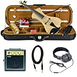 Bunnel NEXT Electric Violin Outfit Natural Flame Amp Included
