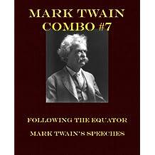 Mark Twain Combo #7: Following the Equator/Mark Twain's Speeches