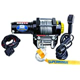 Superwinch (1140220) Black 12 VDC LT4000ATV Winch - 4000 lb. Load Capacity