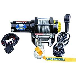 Superwinch (1140220) Black 12 VDC LT4000ATV Winch – 4000 lb. Load Capacity