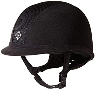 Charles Owen AYR8 Round Fit Riding Hat 59cm black