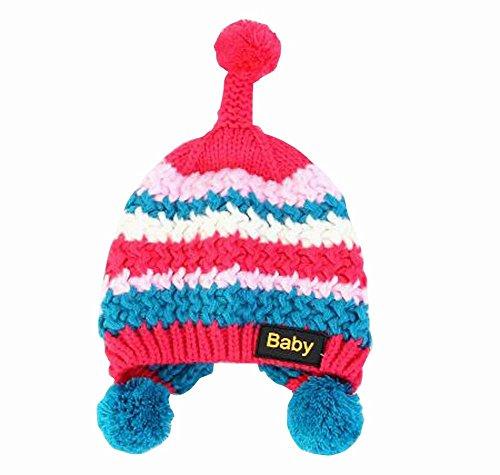 ニットかわいい耳保護キャップWinter Warmer for Baby