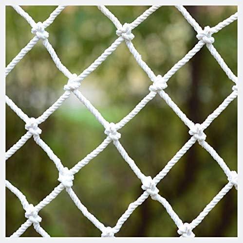 XXN Red de Escalera,Barandas Balcón Escalera Protección de Seguridad para Niños,Planta Decorativa Jardín Animal Obstáculo Cordón de Carga Área de Juegos para Niños Ball Stop Backstop Meta Red Fija: Amazon.es: Jardín