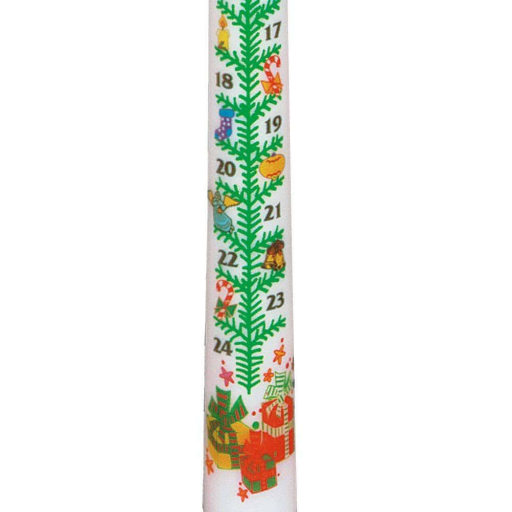 Biedermann & Sons 12 Count Advent Candle, 15-Inch
