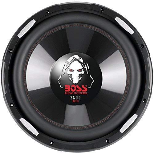 Boss Audio Systems P156DVC Phantom Series Dual Voice-Coil Subwoofer (15'')