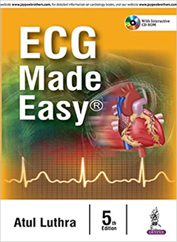Buy Ecg Made Easy With Interactive Cd Rom Book Online At Low