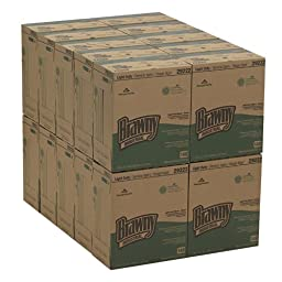 Brawny Industrial 29222 Brown Light-Duty 2-Ply Paper Wipers, 12.5\