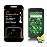 "REALOOK T-Mobile ""Vibrant"" Samsung Galaxy S (2010 Model, SGH-T959) Screen Protector, Crystal Clear 2-PK"