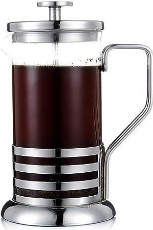 YQQ-Cafetera Presión Francesa Olla de café Olla del hogar Taza de Filtro Ponche a Mano