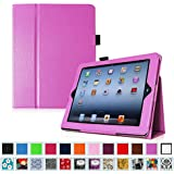 Fintie iPad 2/3/4 Case - Slim Fit Folio Case with Smart Cover Auto Sleep / Wake Feature for Apple iPad 2, the new iPad 3 & iPad 4th Generation with Retina Display, Violet
