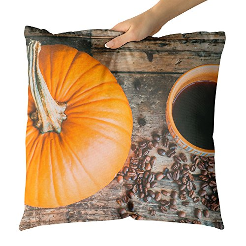 Westlake Art - Pumpkin Calabaza - Decorative Throw Pillow Cushion - Picture Photography Artwork Home Decor Living Room - 16x16 Inch for $<!--$24.95-->