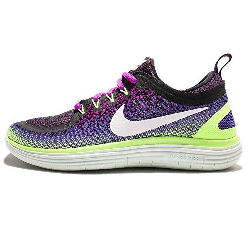 80c926ccafd9 Galleon - Nike Women s Free RN Distance 2 Running Shoe Hyper Violet White-Dark  IRIS-Ghost Green 10.5