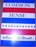 Common Sense, Hansel McDonald, 0805994858