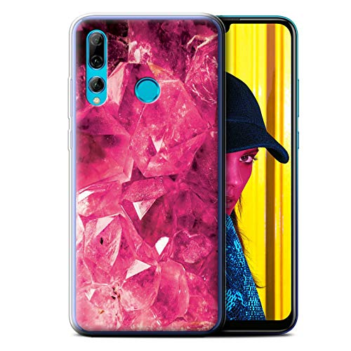 eSwish Gel TPU Phone Case/Cover for Huawei P Smart+ 2019/Honor 20 Lite/October/Tourmaline Design/Birth/Gemstone Collection