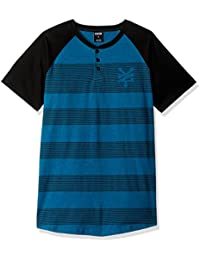 Men's Rugs Henley Short Sleeve