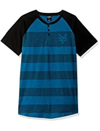 Zoo York Mens Short Sleeve Rugs Henley Shirt